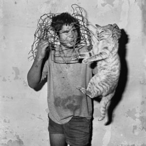 01Roger_Ballen_Cat_catcher_1998